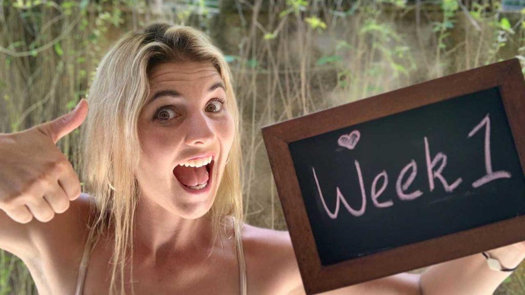 1 week pregnant